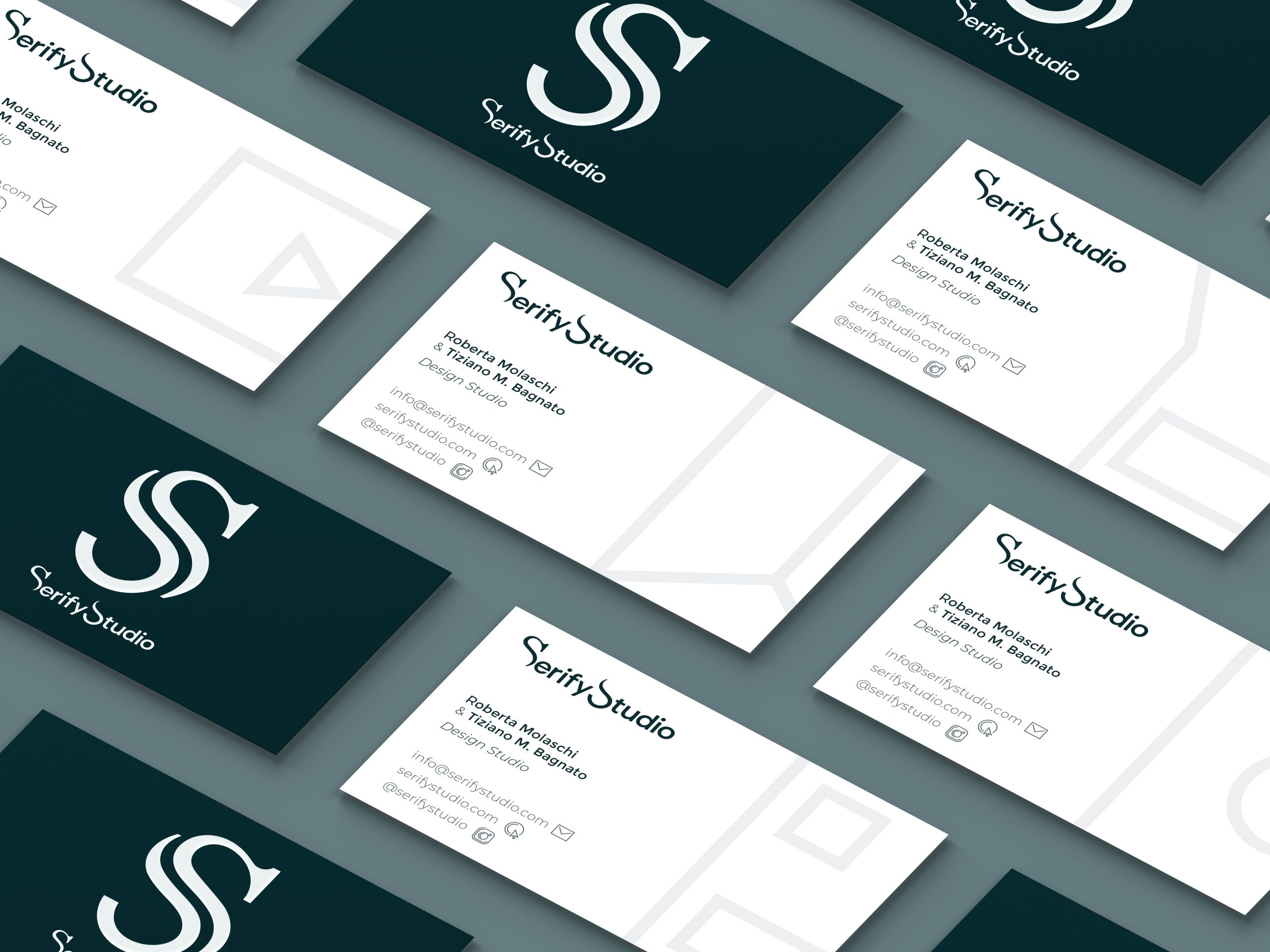 Serify Studio Business Card