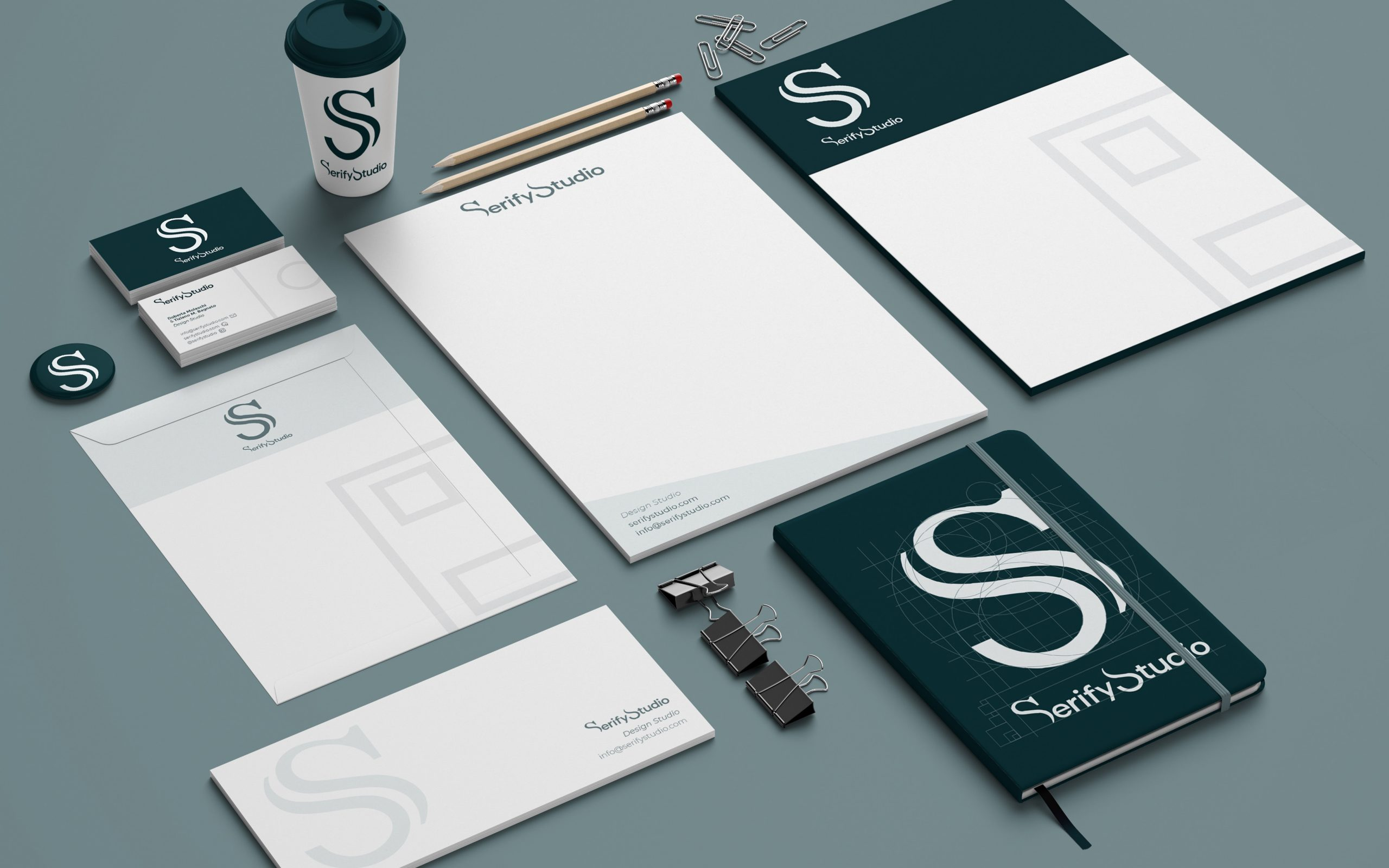 Serify Studio Stationary