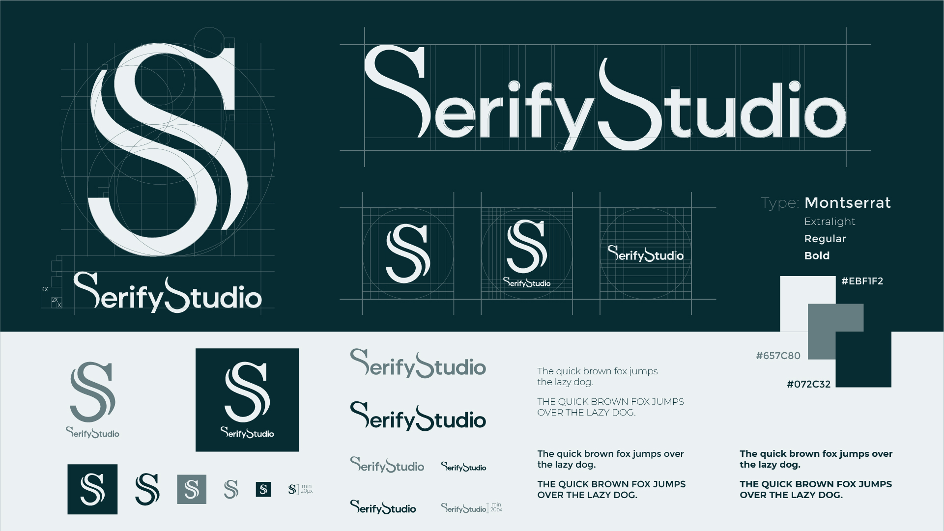 Serify Studio Logo Design