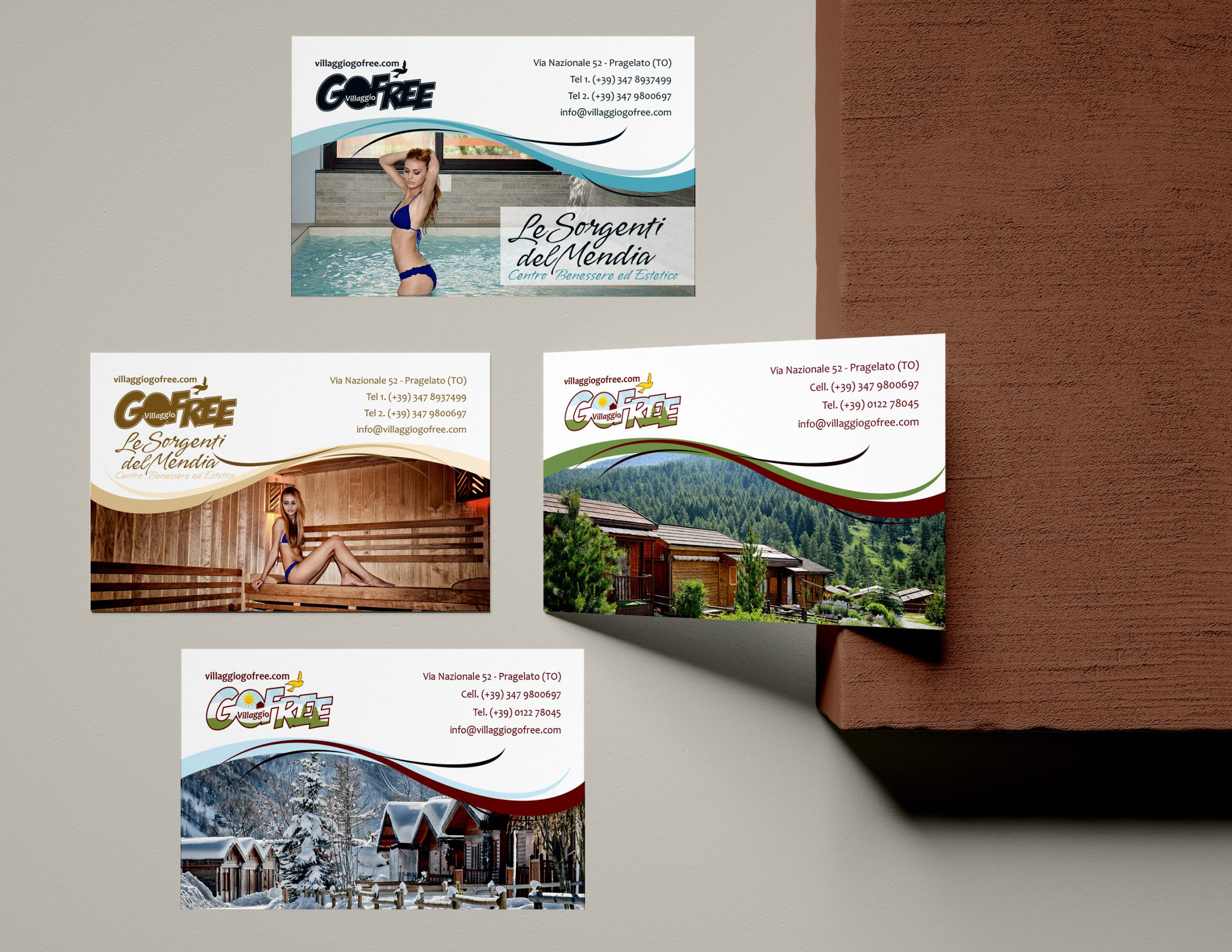 Gofree Business cards